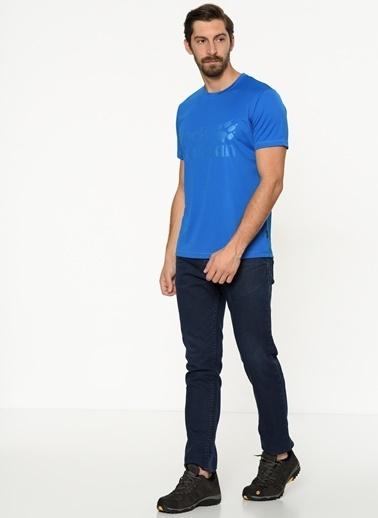 Jack Wolfskin Tişört Mavi